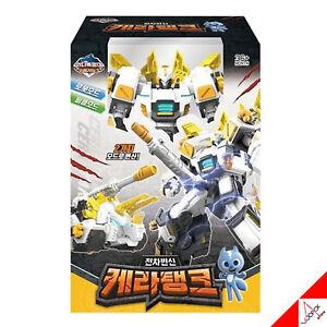 Mini Force 2021 KERA TANK White Vehicle Transformation Transformer Robot Car Toy