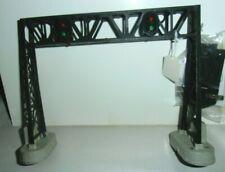 LIONEL No 450 OPERATING SIGNAL BRIDGE- w 153C CONTACTOR + INST- ALL ORIGINAL-TES
