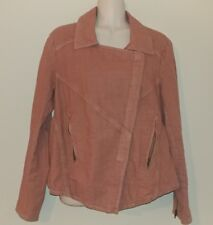 Free People jacket blazer linen blens Women's  size Small Pink/Rose color