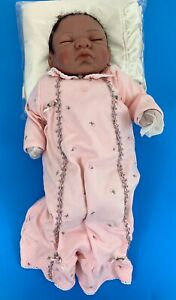 Sheila Michael Reborn Hugs and Kisses Sleeping Baby Girl Vinyl Doll Open Box