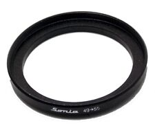 Metal Step up ring 49mm to 55mm 49-55 Sonia New Adapter