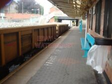 PHOTO  CAERPHILLY RAILWAY STATION FREIGHT TRAIN WITH BALLAST