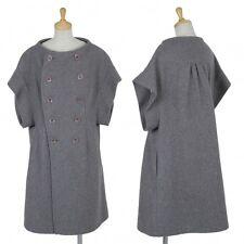 LIMI feu Wool Short sleeve Coat Size S(K-48412)