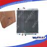 2 Rows Aluminum radiator for Hilux VZN167 V6 Petrol 3.4L 1997-2004