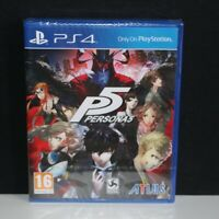 Persona 5 - P5 - Sony PS4 PlayStation 4 Game - New & Sealed