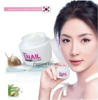 SNAIL WHITE Beauty WHITENING Anti-Aging Wrinkle Repair Facial Cream Free Track