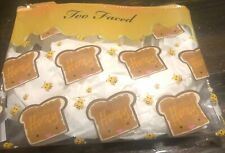 Too Faced Peanut Butter and Honey Makeup Bag