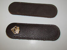PUMA  Einstecketui ( ETUI) Hülle Echt Leder für Taschenmesser PUMA Solingen .