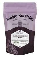 Indigo Herbs Organic Pine Nuts 100g - 250g Premium Quality kernels