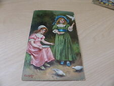 Children & Infants Unposted Collectable Artist Signed Postcards