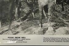 "POSSE FROM HELL, 1961, B&W 8""x10"" MOVIE STILL Photo, Audie Murphy, John Saxon"