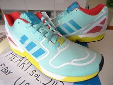 "New Men's Adidas ZX Flux ""Hydra"" Techfit AF6304 SZ 11.5 BOOST tubular NMD YEEZY"