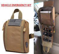 Vehicle Emergncy Kit- Tactical Car Molle Pouch