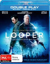 LOOPER New Blu-Ray + Digital Copy BRUCE WILLIS ***