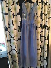 Sessun blue full sky dress size large L brand new BNWT
