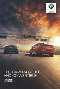 BMW M4 Coupe & Convertible UK Brochure 2019 Competition Package & Individual