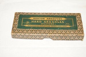 """Norton Hard Translucent Arkansas Oilstone Slip Stone 5"""" x 2"""" HS 5"""