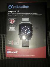 Orologio Cellularline EasySMART HR NERO Smartwatch IPHONE ANDROID