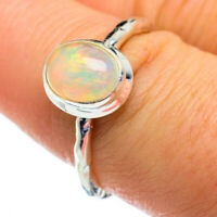 Ethiopian Opal 925 Sterling Silver Ring Size 8 Ana Co Jewelry R47235F