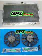 Aluminum Radiator +FAN Mitsubishi 3000GT/GTO 1991-1999 VR-4 Spyder 3.0 Turbo