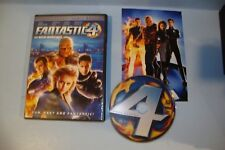 Fantastic Four (DVD, 2005, Full Frame)
