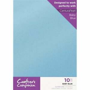 10 x A4 sheets Crafters Companion Luxury Glitter Cardstock 250gsm NEW