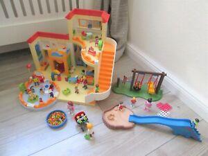 °Playmobil° Kita Kindergarten 5567 Krabbelgruppe 5570 Bällebad 5572 Spielplatz
