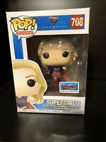 OFFICIAL CON STICKER Funko POP NYCC Exclusive Supergirl DAMAGED 708