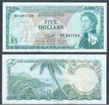 East Caribbean $5 1965 Queen Elizabeth (VF) D5 487799