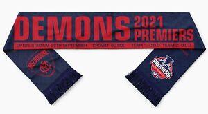 Melbourne Demons 2021 AFL Premiership Scarf! **PRE-SALE**