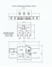 2554 square foot five bedroom house plan