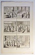 Bernard PICART (1673-1733) Kupferstich-Blatt um 1720 mit 6 Abb.: Vatikan (06