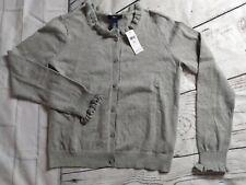 NWT Gap Kids Gray Ruffled Size XXL 13 cardigan jacket sweater girls
