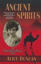 Ancient Spirits (Five Star Mystery Series), Duncan, Alice, Good Condition, Book