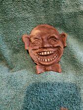 black americana cast iron paperweight statue vintage change reciever