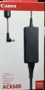 Original Genuine Canon ACK600 Ac Adaptor Kit CA-PS500 A610 A620 A630 A640 A650