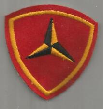 WW 2 Aussie Made Wool USMC 3rd Marine Division Patch Inv# A544