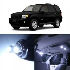 13 x White LED Interior Light Package For 2008 - 2012 Ford Escape + PRY TOOL