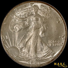 1943-D MS67 PCGS 50C Walking Liberty Half Dollar, Bright Blazing Gem!! F/S MARC