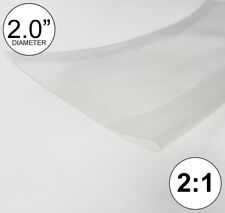 2 Id Clear Heat Shrink Tube 21 Ratio 20 Wrap 2x24 4 Feet Inchftto 50mm