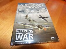 WEAPONS OF WAR Air-To-Air Combat Fighters Fighter History Planes WWII DVD NEW
