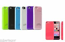 CUSTODIA COVER COMPATIBILE PER APPLE IPHONE 5 5S CARICA BATTERIA ESTERNA 2200mAh