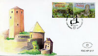 Bosnia & Herzegovina 2017 FDC Castles Europa 2v Set Cover Architecture Stamps