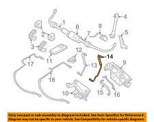 BMW OEM 06-10 550i Stabilizer Sway Bar-Front-Pressure Line Left 37136764615