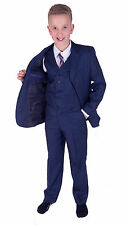 Boys Suits Blue Boy Suits 5 Piece 2 to 15 Years