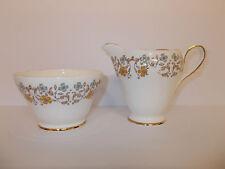 SUTHERLAND Porcelaine Fine Sucrier Lait et Crème Pot Motif Floral Joli