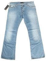 Just Cavalli Mens Slim Fit Bootcut Jeans Vintage Light Blue W38 L34 (IT 54)