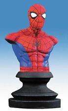 MARVEL ICONS SPIDER MAN RESIN STATUE BUST FIGURE ALEX ROSS UOMO RAGNO NEW!!