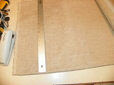Beige Gold Mini Stripe Chenille Upholstery Fabric 1 Yard F1284