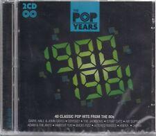 2 CD Kiki Dee, Shakin' Stevens, Stray Cats, Aneka `Pop Years 80-81` Neu/New/OVP